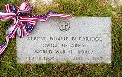 Albert Duane Burbridge