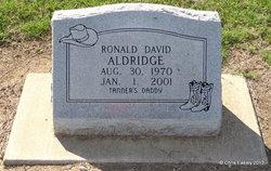 Ronald David Aldridge