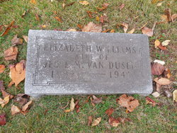 Elizabeth <i>Williams</i> Van Dusen