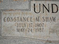 Constance M. <i>Shaw</i> Underwood