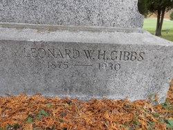 Leonard W Gibbs