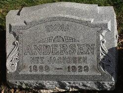Emma <i>Jacobsen</i> Andersen