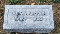 Cuba A. <i>Moyer</i> Aurand