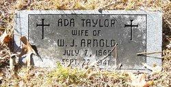 Ada <i>Taylor</i> Arnold
