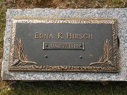 Edna <i>Kirker</i> Hirsch