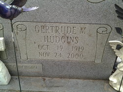 Gertrude Mildred <i>Hudgins</i> Breeden