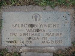 PFC Spurgeon Randolph Wright