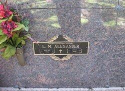 L M Alexander