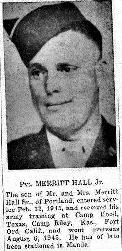 Merritt Noble Bud Hall, Jr