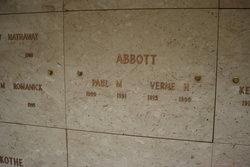 Verne H Abbott