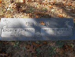 Andrew Jackson Carson