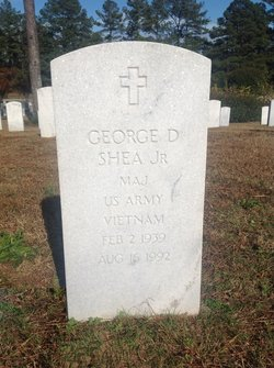 MAJ George D Shea