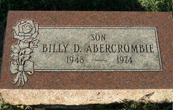 Billy Don Abercrombie