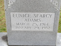 Eunice Searcy Adams