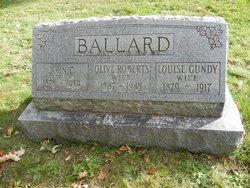 Louise <i>Gundy</i> Ballard