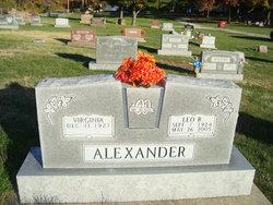 Leo R Bud Alexander
