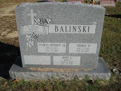 Mary Ellen Molly <i>Matson</i> Balinski