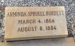 Arminda Millie <i>Spruell</i> Burdett