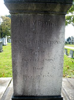 Mary Brown <i>Jones</i> Armstrong