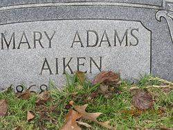 Mary Pleasant <i>Adams</i> Aiken