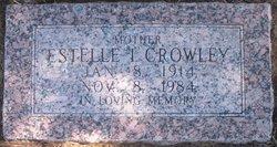 Estelle Ione <i>Phythian</i> Crowley