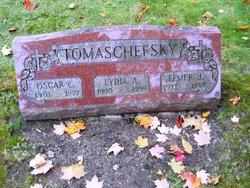 Mrs Lydia A <i>Vetter</i> Tomaschefsky