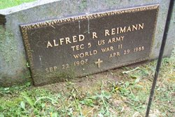 Alfred R Reimann