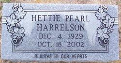 Hettie P <i>Graham</i> Harrelson
