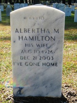 Albertha M Hamilton