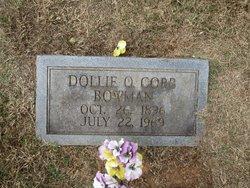 Dollie O <i>Cobb</i> Bowman