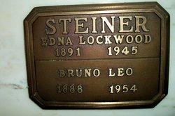 Edna <i>Lockwood</i> Steiner
