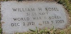 William Harrison Bill Rosel