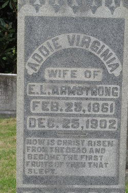 Addie Virginia <i>Frierson</i> Armstrong