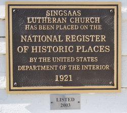 Singsaas Cemetery