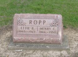 Henry C Ropp