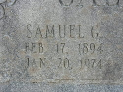 Samuel G Calhoun