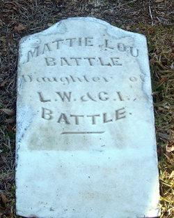 Mattie Lou Battle