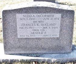 Frances K <i>Holland</i> DeCormier
