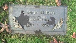 Blanche Hedvick <i>Edin</i> Pate