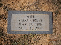 Verna Isabelle Mammaw <i>Kay</i> Cromer
