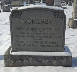 Maj Lorenzo B. Somerby