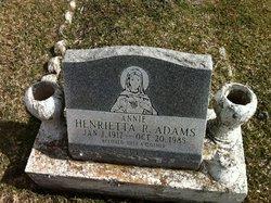 Henrietta R Adams