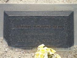 Harriet <i>Thompson</i> Davis