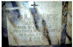 Sr Mary Joseph Vincent Baeschlin