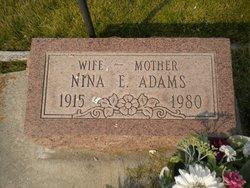 Nina E. Adams