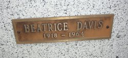 Virginia Beatrice Davis