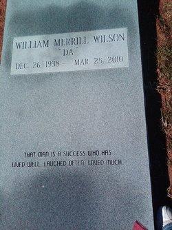 William Merrill Wilson