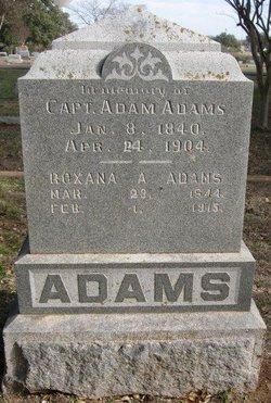 Roxana A Adams