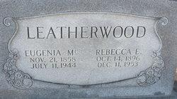 Rebecca E Leatherwood