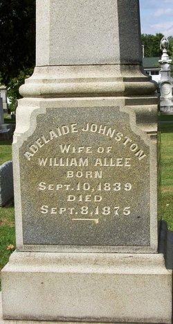 Adelaide <i>Johnston</i> Allee